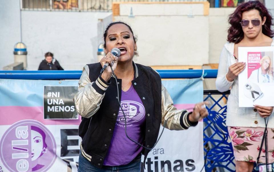 Sthefany Galante lucha por comunidad transgénero California