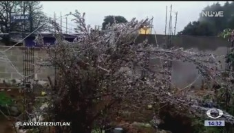 Suspenden clases en Puebla por bajas temperaturas