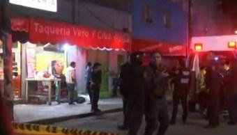 Detienen dos presuntos responsables de balacera en taquería