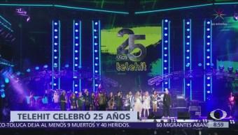 Telehit celebra 25 años con concierto de aniversario