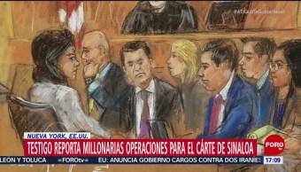 Testigo asegura que 'El Chapo' lo mandó matar en 4 ocasiones