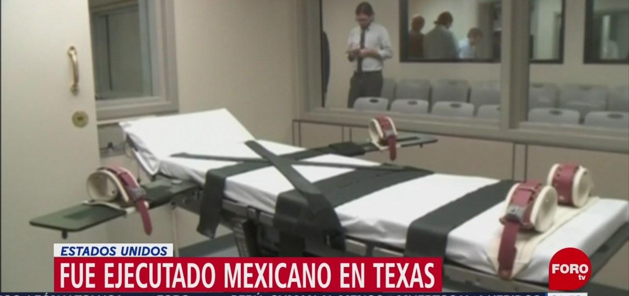 Texas Ejecutan Reo Mexicano Roberto Romero Ramos