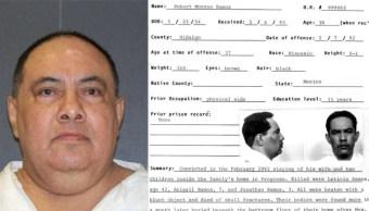 Ejecutan en Texas al reo mexicano Roberto Romero Ramos