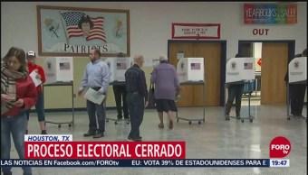 Texas Vive Una Jornada Electoral Cerrada EU