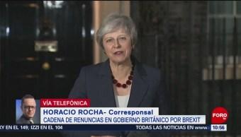 Theresa May Lucha Por Su Supervivencia Política Gobierno Británico Brexit Primera Ministra