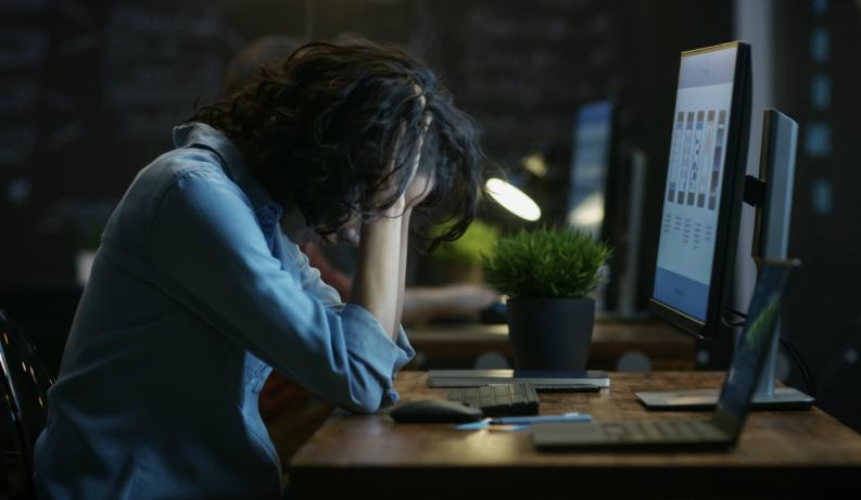 Trabajar con un mal jefe es un riesgo para la salud (Shutterstock)