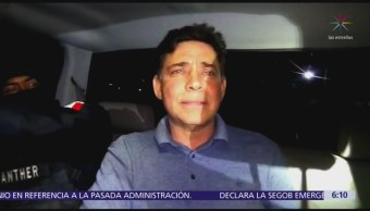 Trasladan al exgobernador de Tamaulipas Eugenio Hernández al 'Altiplano'