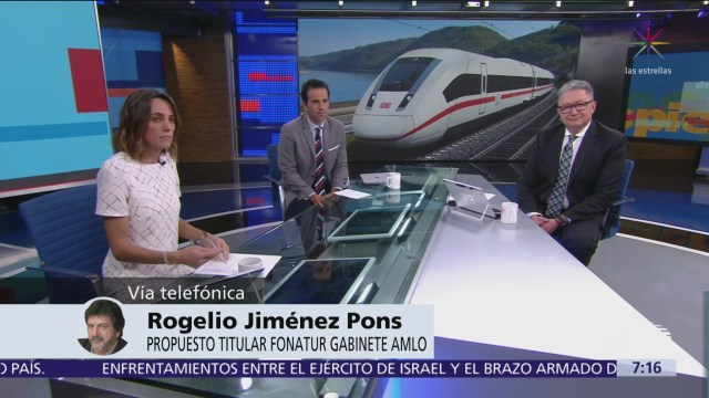 Tren Maya entraría en funciones en cuatro años: Rogelio Jiménez Pons