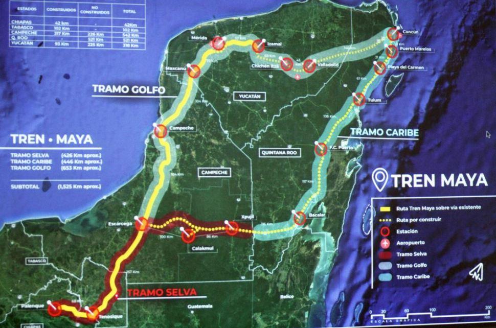 Tren Maya permitirá mejor movilidad dentro de Quintana Roo