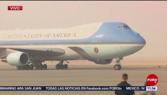 Trump Llega A California Devastada Por Incendios Presidente De Estados Unidos, Donald Trump California Incendios Forestales