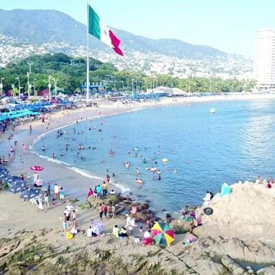 Mar de fondo podría disminuir para el fin de semana largo en Acapulco