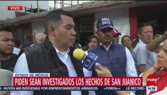 Vecinos de San Juan Ixhuatepec exigen investigación por hechos violentos
