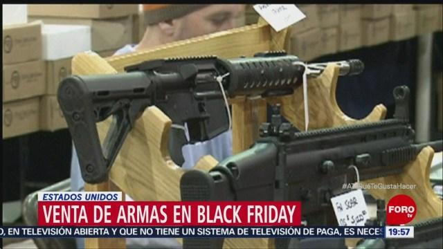 Venta De Armas Aumenta Black Friday EU