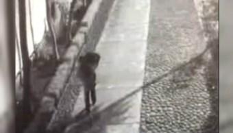 Video muestra a hombre cargando maleta con restos de Ingrid Alisson