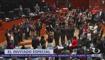5 senadores suplentes rinden protesta en lugares que dejaron secretarios de Estado