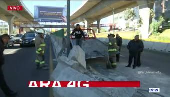 Abren circulación en Periférico Norte tras cierre por accidente vial