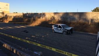 Accidente en km 38 de autopista México-Puebla