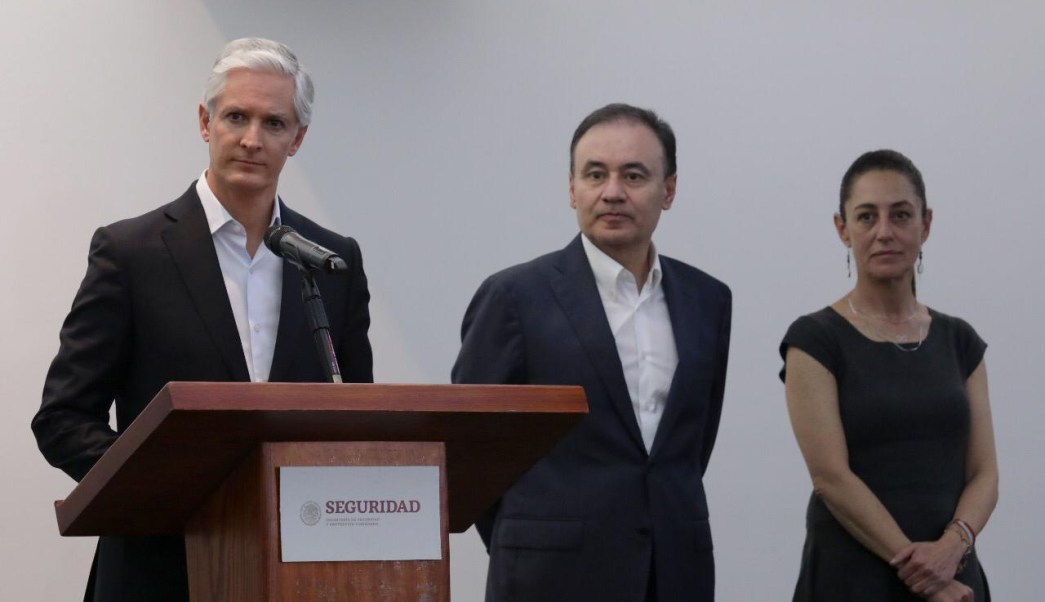 Federación, CDMX y Edomex unen fuerzas por la seguridad