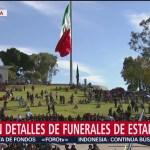 Alistan Funeral Erika Alonso Y Moreno Valle