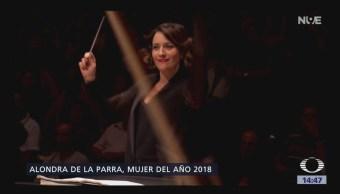 Alondra de la Parra, mujer del año 2018