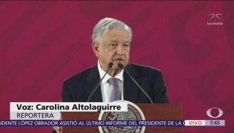 AMLO anuncia convenio de c en ocho estados de la República Mexicana