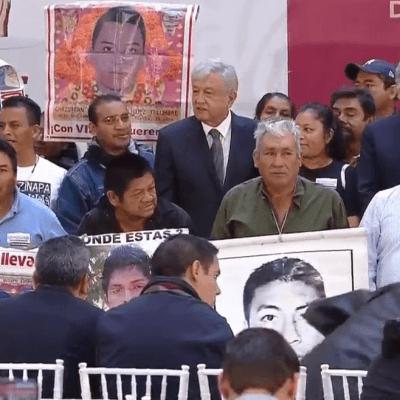 No habrá impunidad en el caso Ayotzinapa, dice López Obrador