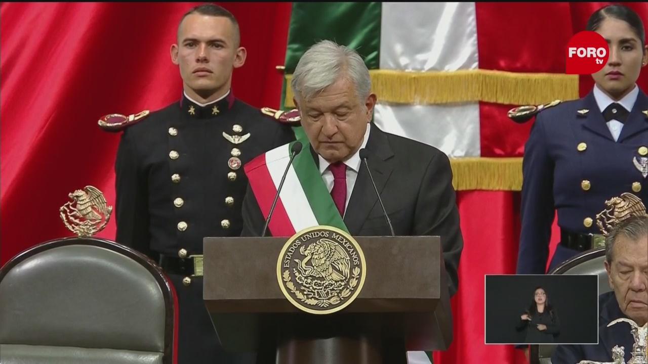 AMLO lamenta estado de la economía actual de México en su primer mensaje