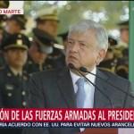 AMLO reitera hay que pocos elementos para atender la inseguridad en México