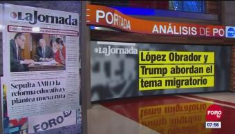 Análisis de las portadas nacionales e internacionales del 13 de diciembre del 2018