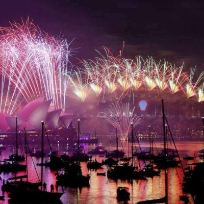 Islas del Pacífico Sur reciben el Año Nuevo 2019