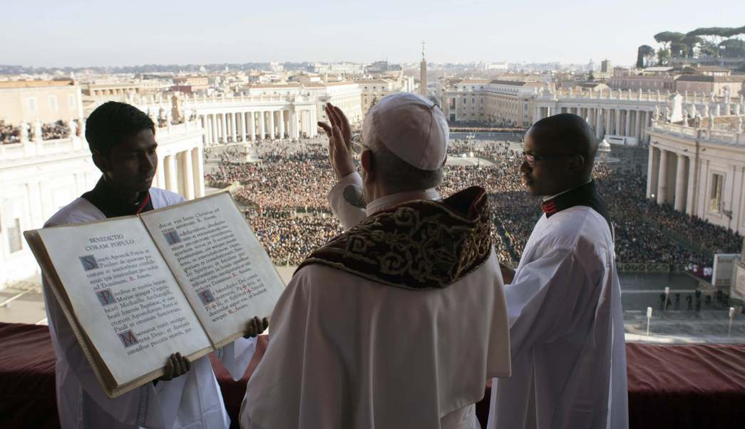 Transmisión en vivo del mensaje de Navidad 2018 del papa