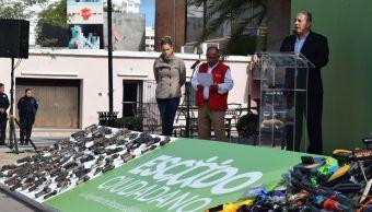 Seguridad Sonora; concluye campaña de 'Despistolización'