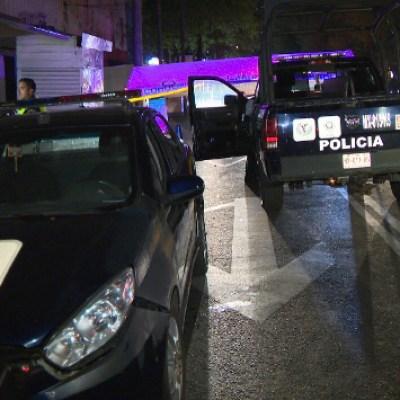 Atropellan a dos agentes de Policía CDMX en alcoholímetro de Marina Nacional