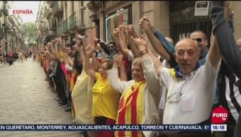 Aumenta la tensión independentista en Cataluña