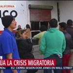 Autoridades mexicanas se reúnen con líderes de migrantes en Tijuana