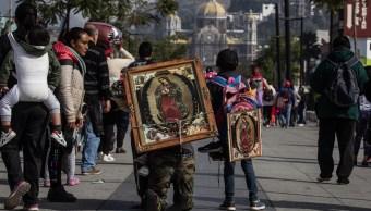 Basílica rompe récord de visitantes en festejos guadalupanos