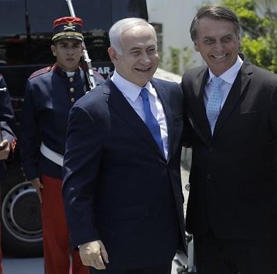 Bolsonaro trasladará la embajada de Brasil a Jerusalén, anuncia Netanyahu