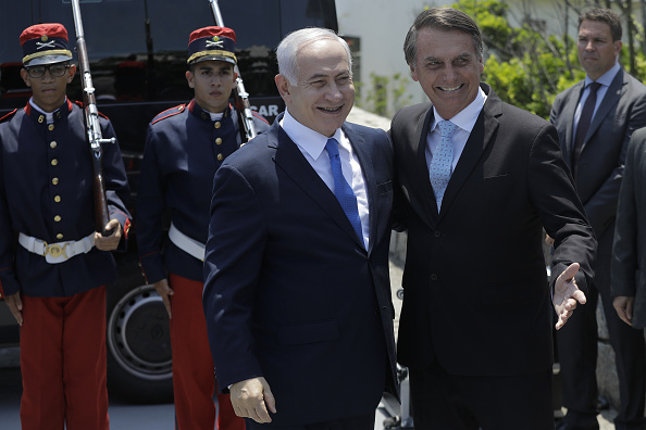 Bolsonaro trasladará embajada de Brasil a Jerusalén: Netanya