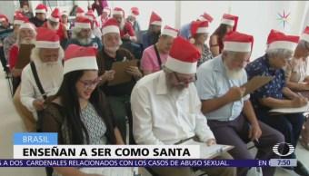 Brasil imparte curso para ser Santa Claus