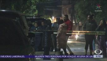 Hombre muere baleado en la alcaldía de Miguel Hidalgo
