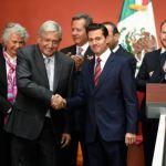 Peña Nieto celebra con el rey Felipe VI de España su última reunión en Los Pinos