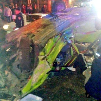 Carambola en la carretera México-Cuernavaca deja un muerto y 3 heridos