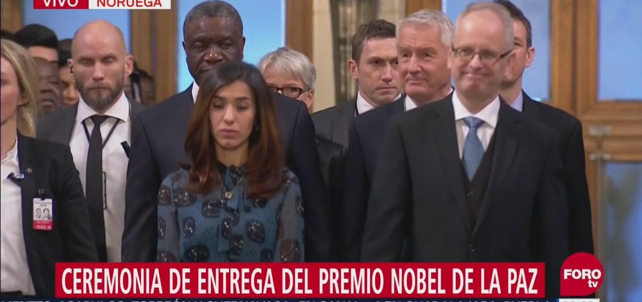 Ceremonia de Entrega del Premio Nobel de la Paz