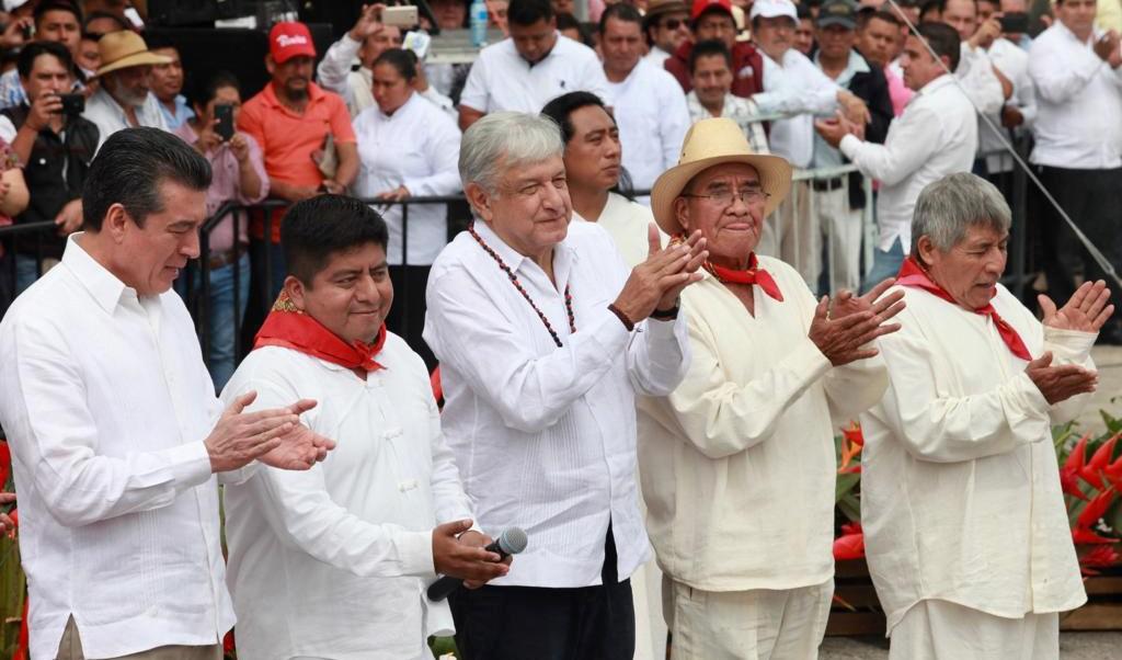 AMLO pone en marcha proyecto de Tren Maya en Chiapas