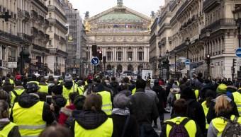 Sexta jornada de protesta de 'chalecos amarillos' en Francia