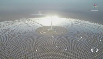 China Marcha Nueva Planta Energía Solar