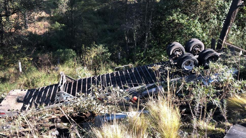 Cierran autopista México-Puebla por accidentes