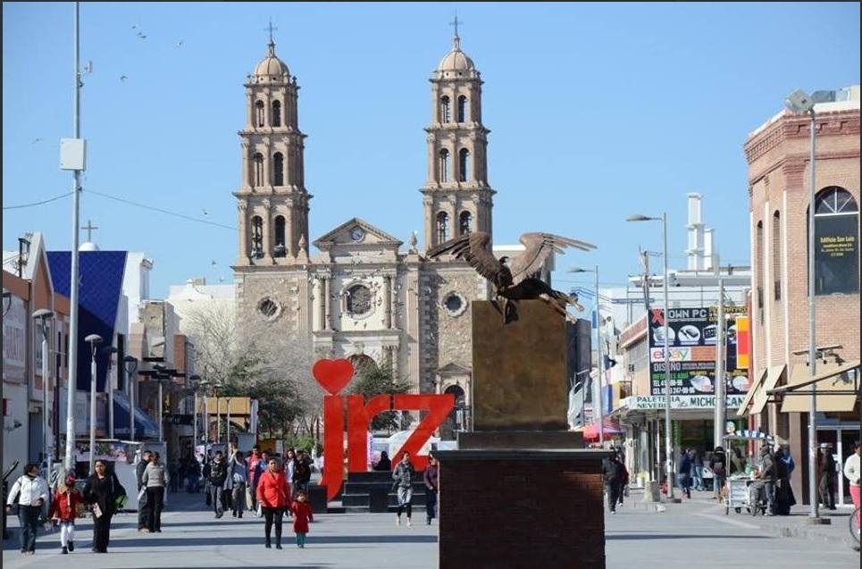 Seguridad Ciudad Juárez; botones de pánico centro histórico