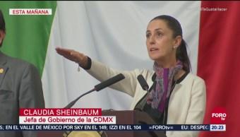 Claudia Sheinbaum Promete Trasporte Público Cdmx