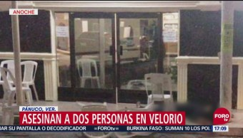 Comando Dispara Contra Asistentes Velorio Veracruz